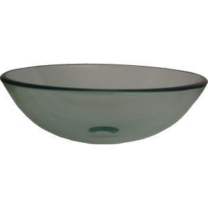 Novatto TIG 8048BN Bonificare Brushed Nickel  Vessel Single Bowl Bathroom Sinks