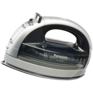 Panasonic Concept 360 Degree Freestyle Steam/Dry Iron with Curved Stainless Steel Soleplate DISCONTINUED NI WL600