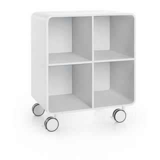 WS Bath Collections Bej 8031 Linea Bej 28 2 7 x 23 3 5 Cabinet with Glass Door on Wheels