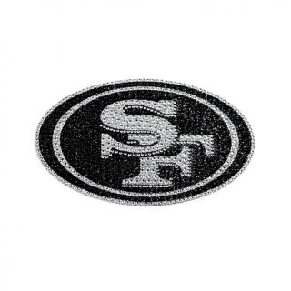 Officially Licensed NFL His and Her's Bling Emblems   49ers   8167406
