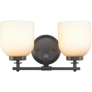 World Imports Lighting WI 61030 Kelly Oil Rubbed Bronze  Bathroom Lighting Lighting