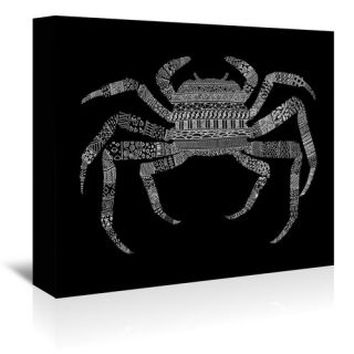 Crab Framed Graphic Art by Americanflat