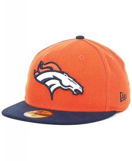 New Era Denver Broncos On Field 59FIFTY Cap   Sports Fan Shop By Lids
