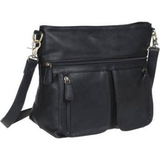 Jo Totes Allison Camera Bag with Dual Front Pouches (Black) A011