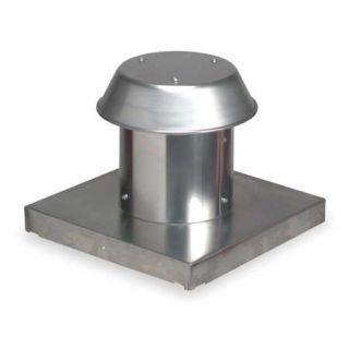 Broan 611CM 8 Round Duct Aluminum Roof Cap for Flat Roof