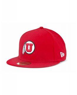 New Era Utah Utes 59FIFTY Cap   Sports Fan Shop By Lids   Men