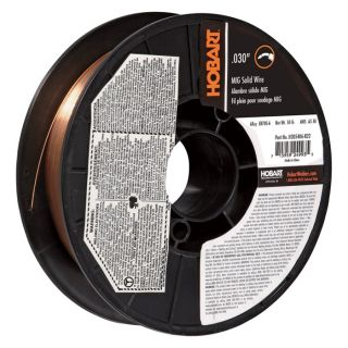 Hobart MIG Welding Wire — ER70S-6 Carbon Steel, .030in., 10-Lb. Spool, Model# H305406-R22  MIG   Flux Core Wire