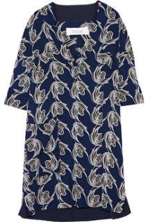 Printed silk mini dress  10 Crosby by Derek Lam