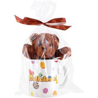 Candy Crush Saga Bear With Ceramic Mug: Brown