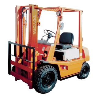 HYSTER Reconditioned Forklift — 2 Stage, 5,000-lb. Capacity, 1997-2003, Model# HYSTER H50XM 1997-2003  Forklifts