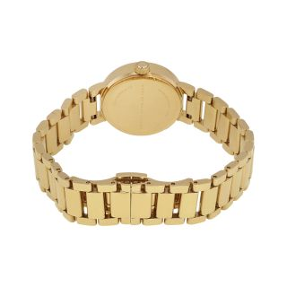 Marc By Marc Jacobs Peggy Gold Tone Sunray Dial Ladies Watch MBM3405