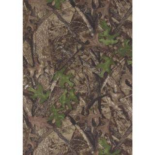 True Timber Spring Brown 3 ft. 2 in. x 4 ft. 9 in. Indoor Area Rug 1400 00240 359
