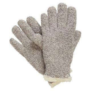 Impressions by Isotoner Marled Gloves   Gray