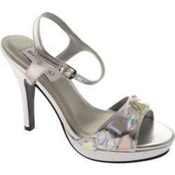 Womens Dyeables Kelly Silver Metallic   16422516