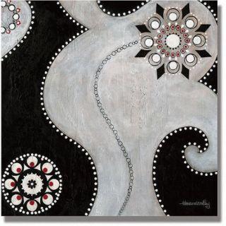 "Trademark Fine Art ""Duality"" Canvas Art by Alexandra Rey"