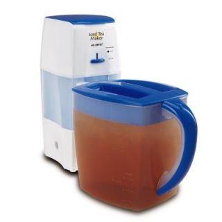 Mr. Coffee 3qt Iced Tea Maker  Blue DISCONTINUED TM75
