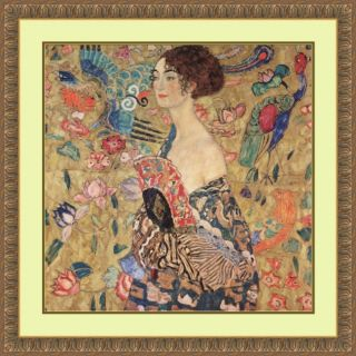Gustav Klimt Donna con Ventaglio (Woman with Fan) Art Print