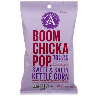Angie's Boom Chicka Pop Sweet & Salty Kettle Corn, 1 oz, (Pack of 24)