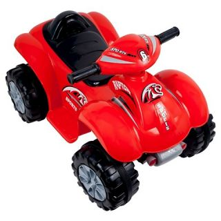 Lil Rider Rally Racer Battery Powered 4x4 ATV Red