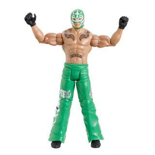 WWE FLEXFORCE Action Figure   Flip Kickin' Rey Mysterio    Mattel