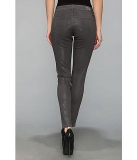 Paige Verdugo Ultra Skinny Ankle In City Fog Silk Coating City Fog Silk Coating