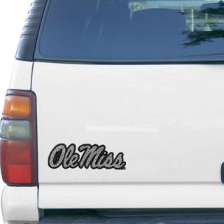 Ole Miss Rebels Bling Emblem Car Decal