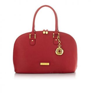 JOY & IMAN 22 Section Luxe Genuine Leather Handbag & Watch   7552462