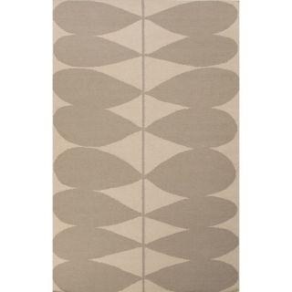 En Casa Gray/Ivory Geometric Area Rug by JaipurLiving