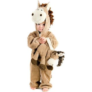 Brown Corduroy Horse Halloween Costume   Toddler Size    Buyseasons