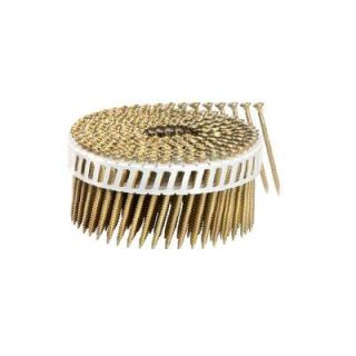 Scrail 2 1/4 in. x 1/9 in. 15 Degree Coarse Thread Electro Galvanize Plastic Sheet Coil Philips Head Scrail (2,000 Pack) SCMP713CPEG