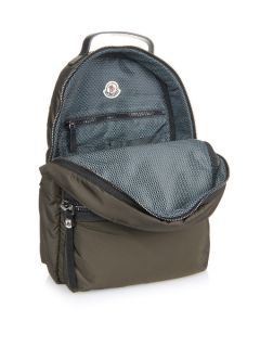 George quilted nylon backpack  Moncler US