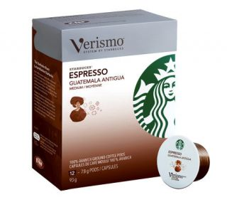 Starbucks 72 pc Verismo Espresso Guatemala Antigua Coffee Pods —