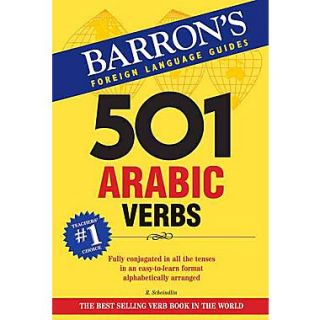 501 Arabic Verbs: Fully Conjugated in All Forms Raymond Scheindlin Ph.D Paperback