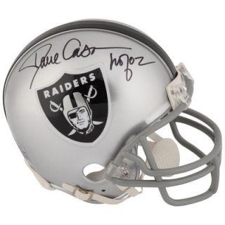 Dave Casper Oakland Raiders  Authentic Autographed Mini Helmet with HOF 2002 Inscription