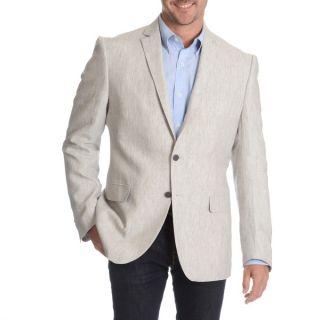 Daniel Hechter Mens Charcoal Fancy Wool Sport Coat