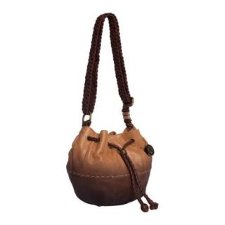 Womens THE SAK Indio Small Drawstring Camel Ombre