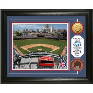 MLB Highland Mint, Wrigley Field Game Used Dirt Coin Photo Mint
