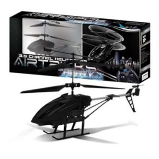 AWW Industries The Firefly Hobby Class 3.5ch Radio Control RC Helicopter   Black