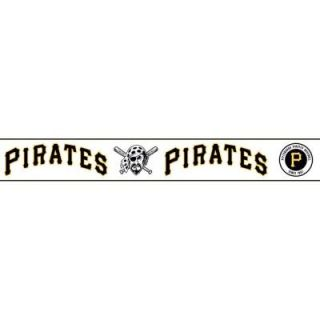 Major League Baseball Boys Will Be Boys II 6 in. Pittsburgh Pirates Border ZB3397BD