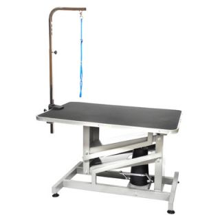 Go Pet Club Z Lift Hydraulic Professional Dog Grooming Table with Arm