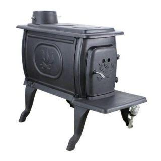 US Stove Logwood 900 sq. Ft. EPA Certified Cast Iron Stove 1269E