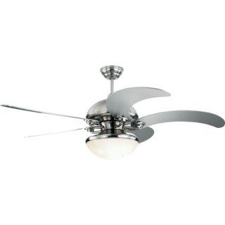 Monte Carlo Monte Carlo Centrifica 52 inch 5 blade Silver Ceiling Fan