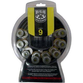 BSB SPEED BEARINGS Abec 9 Set of 16 INLINE Skate Rollerblade HOCKEY
