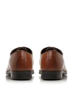 Linea Raven plain toe 4 eye gibson shoes