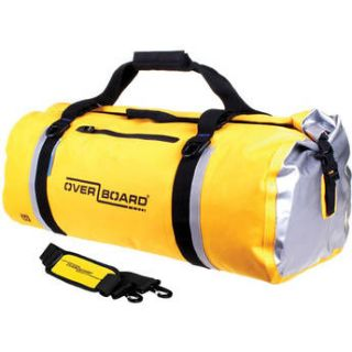 OverBoard Classic Waterproof Duffel Bag (60L, Yellow) OB1151 Y