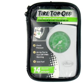 Access Marketing   Slime 40020 Tire Top Off Compressor & Inflator With LED Light