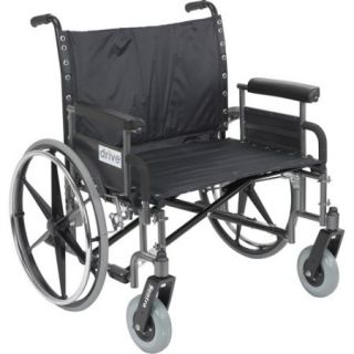 Drive Medical Sentra Heavy Duty Extra Wide Dual Axle Wheelchair