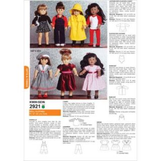 Dolls Clothes   Fits 18 (45 cm) Dolls Pattern