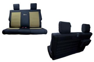 Bartact   Rear Bench Seat Cover   Fits 2007 to 2010 JK Wrangler and Rubicon