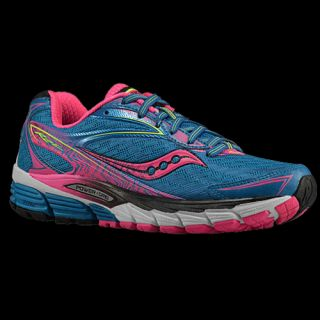 Saucony Ride 8   Womens   Running   Shoes   Deepwater/Violet/Slime